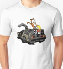 CALVIN AND HOBBES DELOREAN T-Shirt