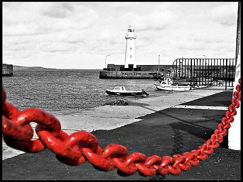 red chain by GaryK Photography