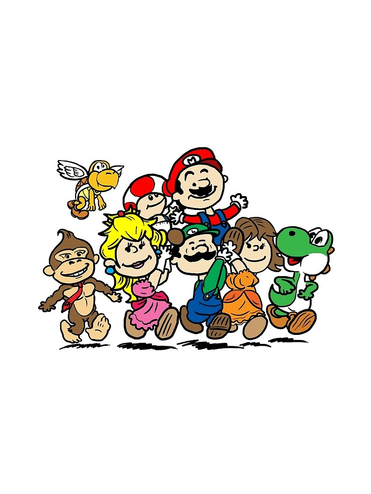 SUPER MARIO GANG by UnionTee