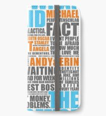 The Office Blue and Orange iPhone Wallet/Case/Skin