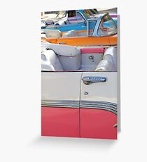 Havana Taxi Stand Greeting Card