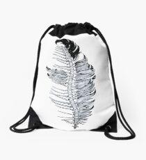 Human Spine Drawstring Bag