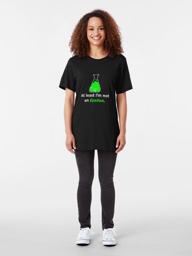 Alternate view of Huxburywell: At Least I'm Not An Epsilon Slim Fit T-Shirt
