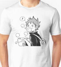 HAIKYUU: Hinata Eating Senpai's Pork Buns  Unisex T-Shirt