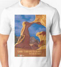 Vintage Travel Poster - Grand Staircase Escalante National Monument, Utah Unisex T-Shirt
