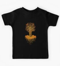 Island of the Autumn Tree Kids Tee