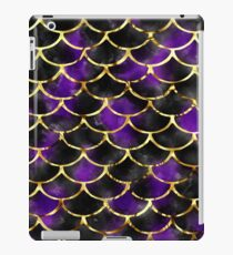 Dark mermaid purple iPad Case/Skin