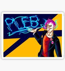 Pleb Sticker