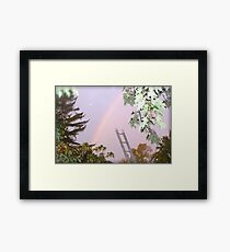 I Wanted to Paint You A Rainbow Framed Print