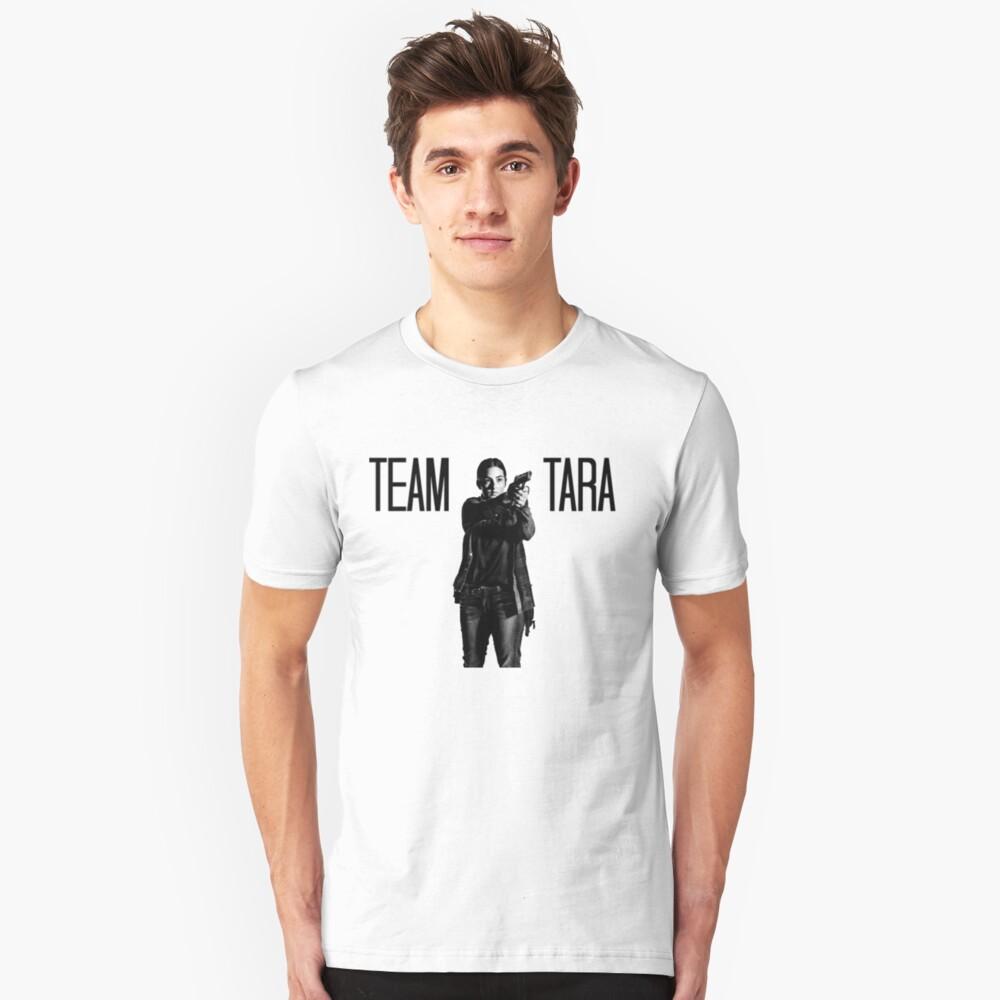 Team Tara- The Walking Dead Unisex T-Shirt Front