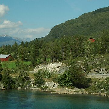 Countryside Norway by chayanaim