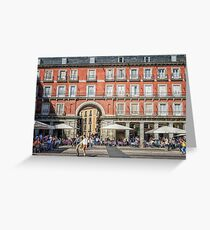 Plaza Mayor of Madrid Greeting Card