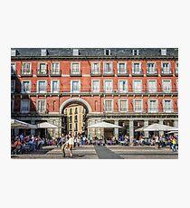 Plaza Mayor of Madrid Photographic Print