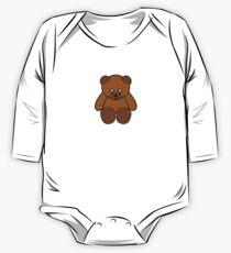 Teddy Bear Sticker Kids Clothes