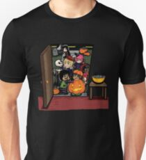 Carnikids: Trick-or-Treat Color (Dark) Unisex T-Shirt