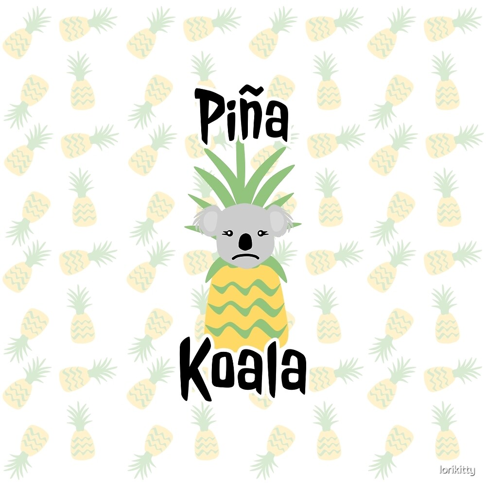 Piña Koala by lorikitty
