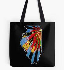 Illinois Blackhawks Tote Bag