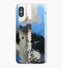 Reflections on the Water- Wooden Docks iPhone Case/Skin