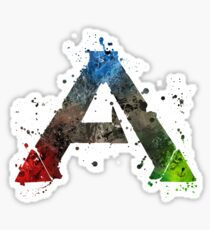 Ark Survival Splatter Sticker