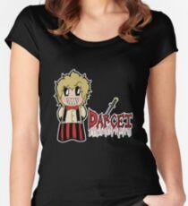 Carnikids: Darcei Color (Dark) Women's Fitted Scoop T-Shirt