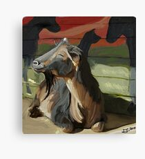 Nero for Goats of Anarchy  Canvas Print