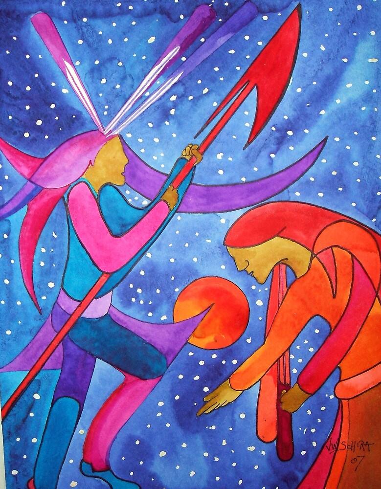 Sky Dancers 2 by Jamie Winter-Schira