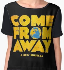 come from away Chiffon Top