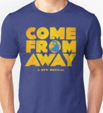 Camiseta ajustada venir de lejos