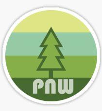 Pacific Northwest tree Sticker
