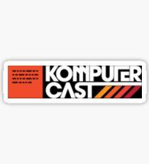 Komputer cast sticker Sticker