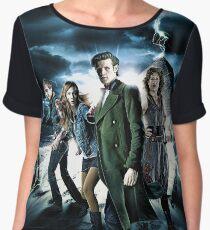 Doctor Who Cast - Season 6 Women's Chiffon Top