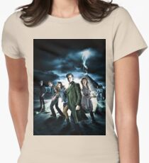 Doctor Who Cast - Season 6 Womens Fitted T-Shirt