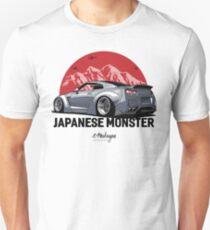 GTR. Japanese Monster (grey) Unisex T-Shirt