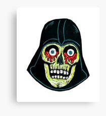 Bloody eyed Skull Canvas Print