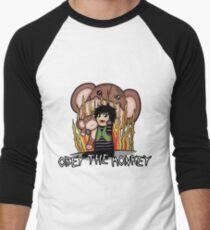 Carnikids: Corby Monkey Shirt Men's Baseball ¾ T-Shirt