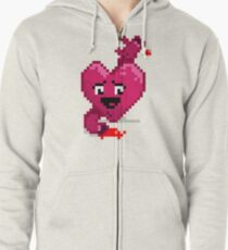 All My Hearts Zipped Hoodie