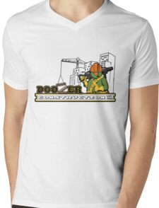 Doozer Construction Mens V-Neck T-Shirt