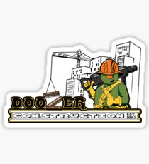Doozer Construction Sticker