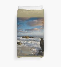 JESUS- FOLLOW ME AND I WILL MAKE YOU FISHERS OF MEN Duvet Cover