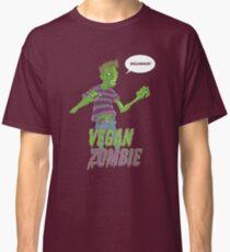 Vegan Zombie Classic T-Shirt