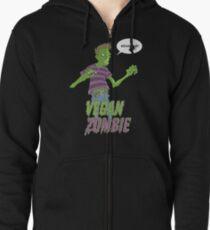 Vegan Zombie Zipped Hoodie