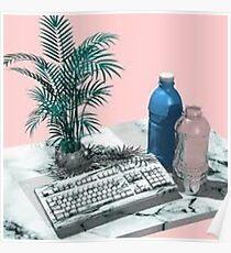 Keyboard Aesthetic Poster