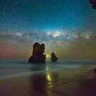Venus setting between two Apostles by pablosvista2