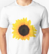 Sunflower Single Bloom Unisex T-Shirt