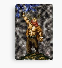 Thor - God of Thunder Canvas Print