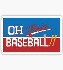 Oh! That's a Baseball!! JJBA Jojo's Bizarre Adventure Sticker