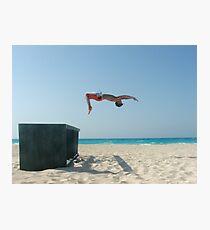 BeachFlip Photographic Print