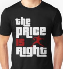 The Price Is Right Boston Baseball Pitcher Unisex T-Shirt