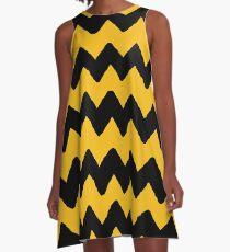 CHARLIE CHEVRON A-Line Dress