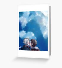 Love under a Blue Sky Greeting Card
